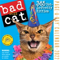 Bad Cat Page-a-Day Calendar 2022