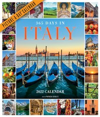 365 Days in Italy Picture-A-Day Wall Calendar 2022
