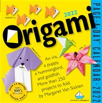 Origami Page-a-Day Calendar 2022