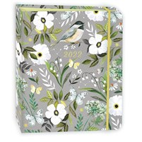 """Katie Daisy 2022 Hardcover Deluxe Planner (7.5"""" x 9"""" closed)"""