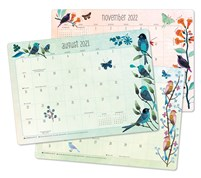 "Geninne Zlatkis 2021 - 2022 Desk Pad Calendar (17-Month Aug 2021 - Dec 2022, 18.75"" x 13.5"")"
