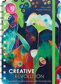 "Creative Revolution 2021 - 2022 On-the-Go Weekly Planner: 17-Month Calendar with Pocket (Aug 2021 - Dec 2022, 5"" x 7"" closed)"