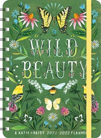 "Katie Daisy 2021 - 2022 On-the-Go Weekly Planner: 17-Month Calendar with Pocket (Aug 2021 - Dec 2022, 5"" x 7"" closed): Wild Beauty"