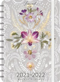"FIREWEED 2021 - 2022 On-the-Go Weekly Planner: 17-Month Calendar with Pocket (Aug 2021 - Dec 2022, 5"" x 7"" closed)"