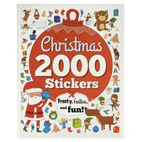 2000 Stickers Christmas Activity Book