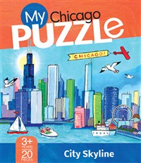 My Chicago 20-Piece Puzzle
