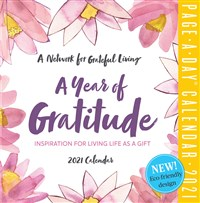 A Year of Gratitude Page-A-Day Calendar 2021