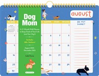 Dog Mom 17-Month Wall Calendar 2021