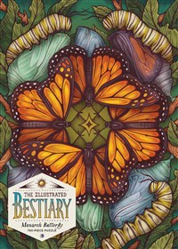 The Illustrated Bestiary Puzzle: Monarch Butterfly (750 pieces)